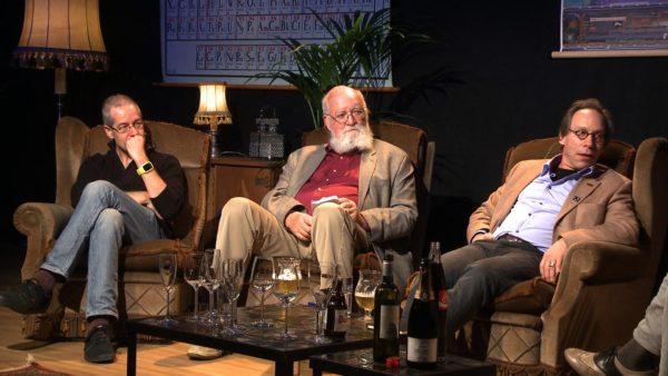 Het Denkgelag Royale met Daniel Dennet, Lawrence Krauss en Massimo Pigliucci