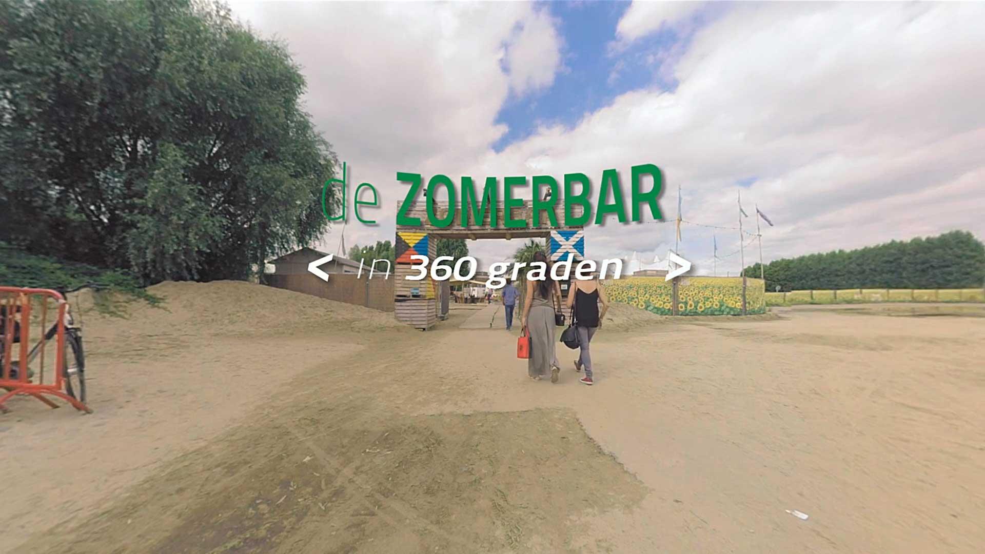 360 graden video Zomerbar